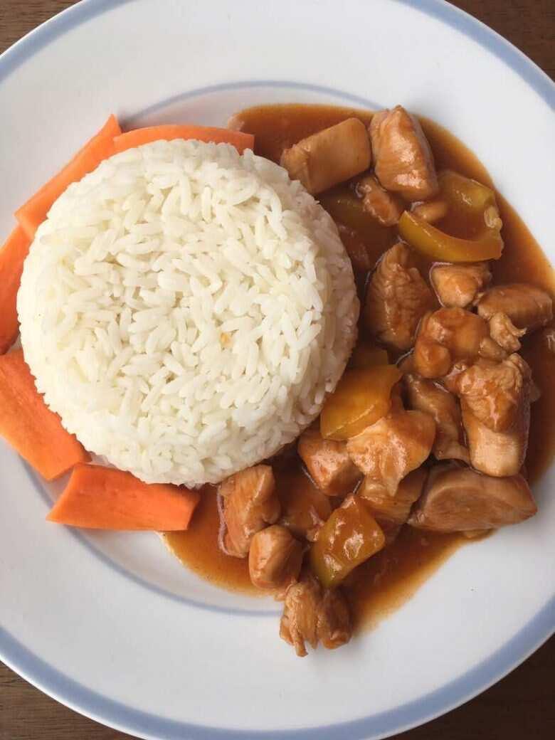 How to prepare chicken stew sauce