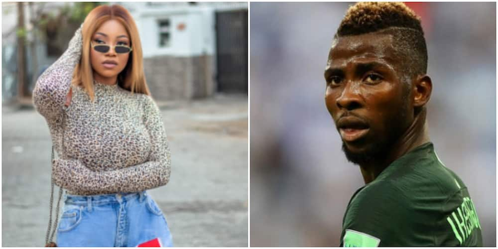 Tacha Heavily Dragged for Saying Footballer Iheanacho Has Done More for Nigerians Than the Government