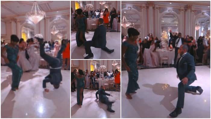 Man dances on his head at wedding ceremony, his hot moves get all eyes on him in viral video
