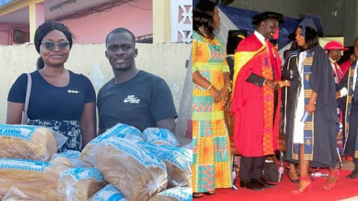 First-class graduate who sold bread on street for a living finally secures job with reputable company