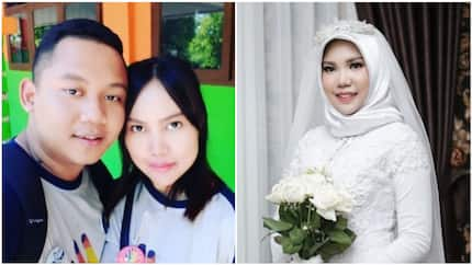 Woman who lost her fiance in tragic plane crash poses in wedding photos alone
