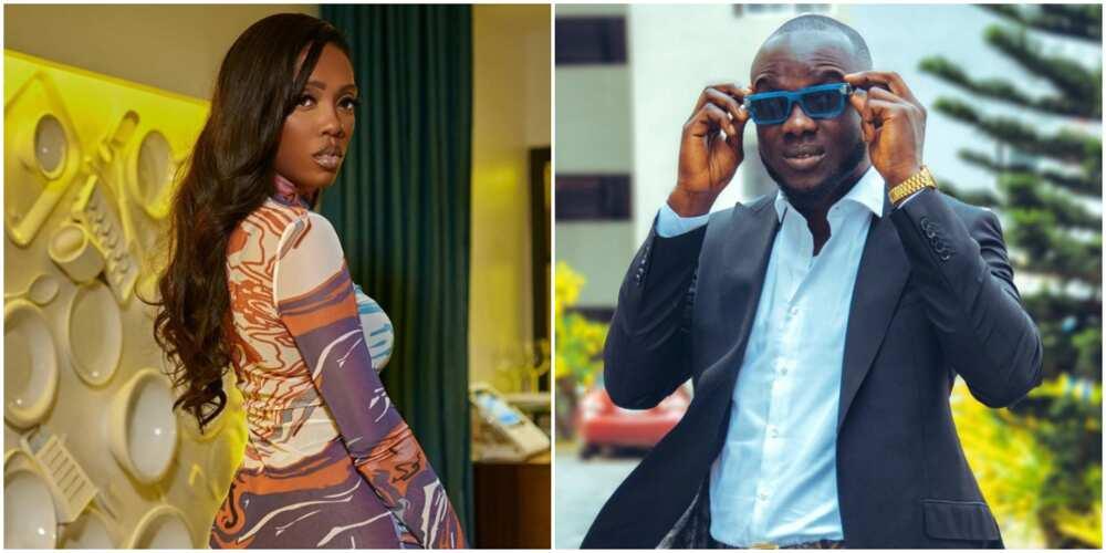 Tiwa Savage chills in Ghana with Toke Makinwa