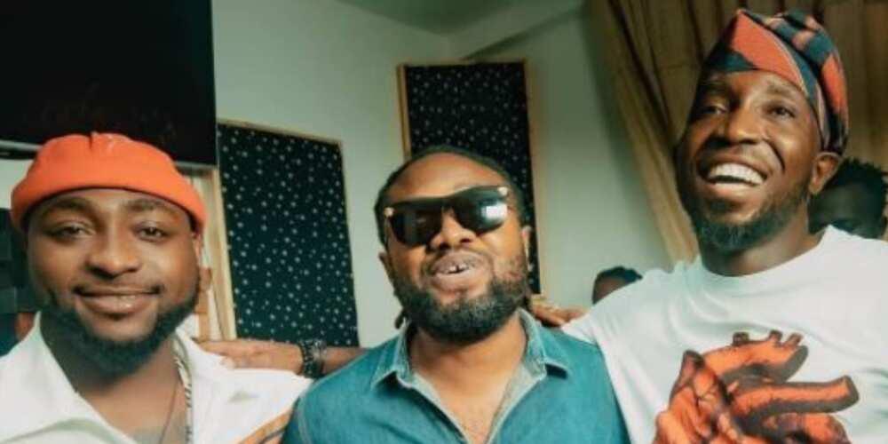 Davido, Timi Dakolo and Cobhams Asuquo to collaborate on new song