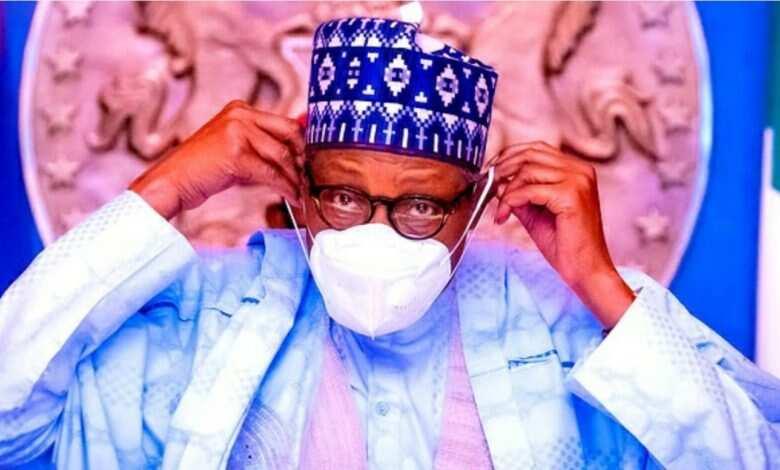 Shugaba Muhammadu Buhari ya yi magana game da ra'ayinsa kan sanya takunkumin fuska