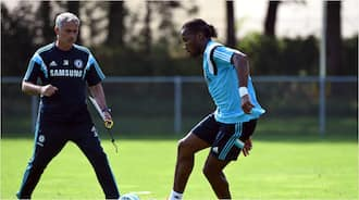Funny story of how Didier Drogba wanted to 'end' Chelsea team mate for harsh tackle in training