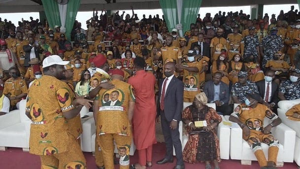 Actor Zubby Michael Campaigns for APGA, Soludo
