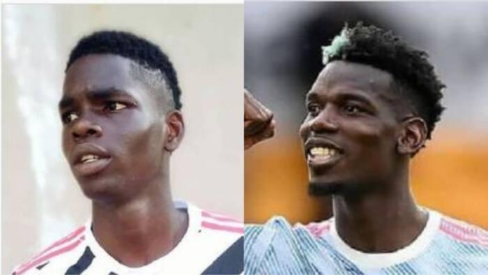 Nigerian man posts stunning trending photo of himself, claims he looks like Paul Pogba