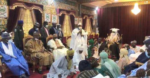 Auren Yusuf Buhari: An kaddamar kwamitin mutane sama da 100 don kula da daurin aure