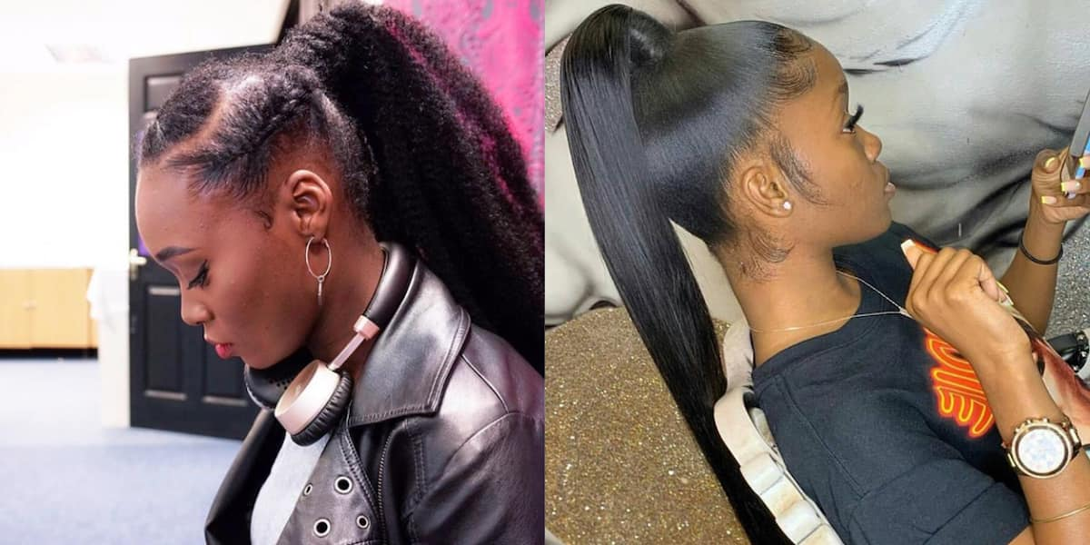 Top 20 Easy Ponytail Styles For You To Try In 2019 Legit Ng