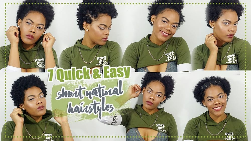 How To Style Short Natural Hair After Washing Legit Ng