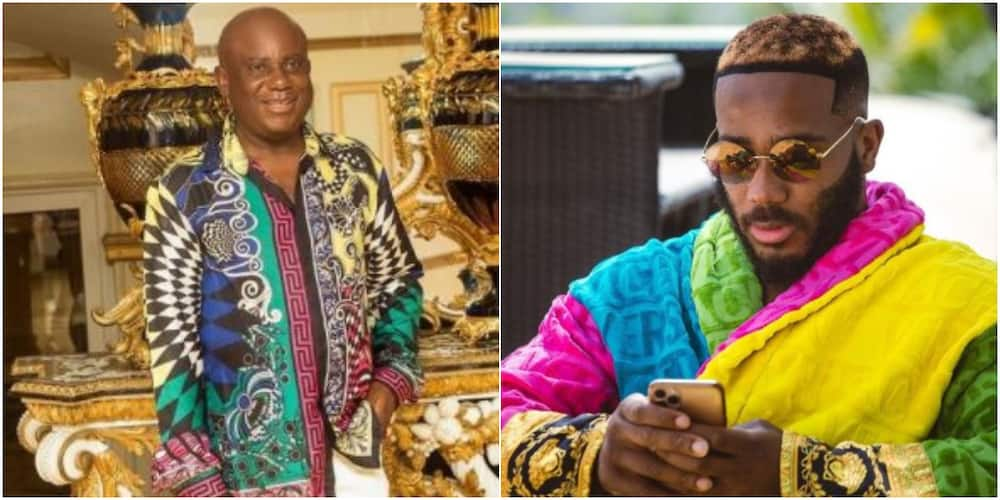 Kiddwaya defends dad as trolls call him out for always showing off