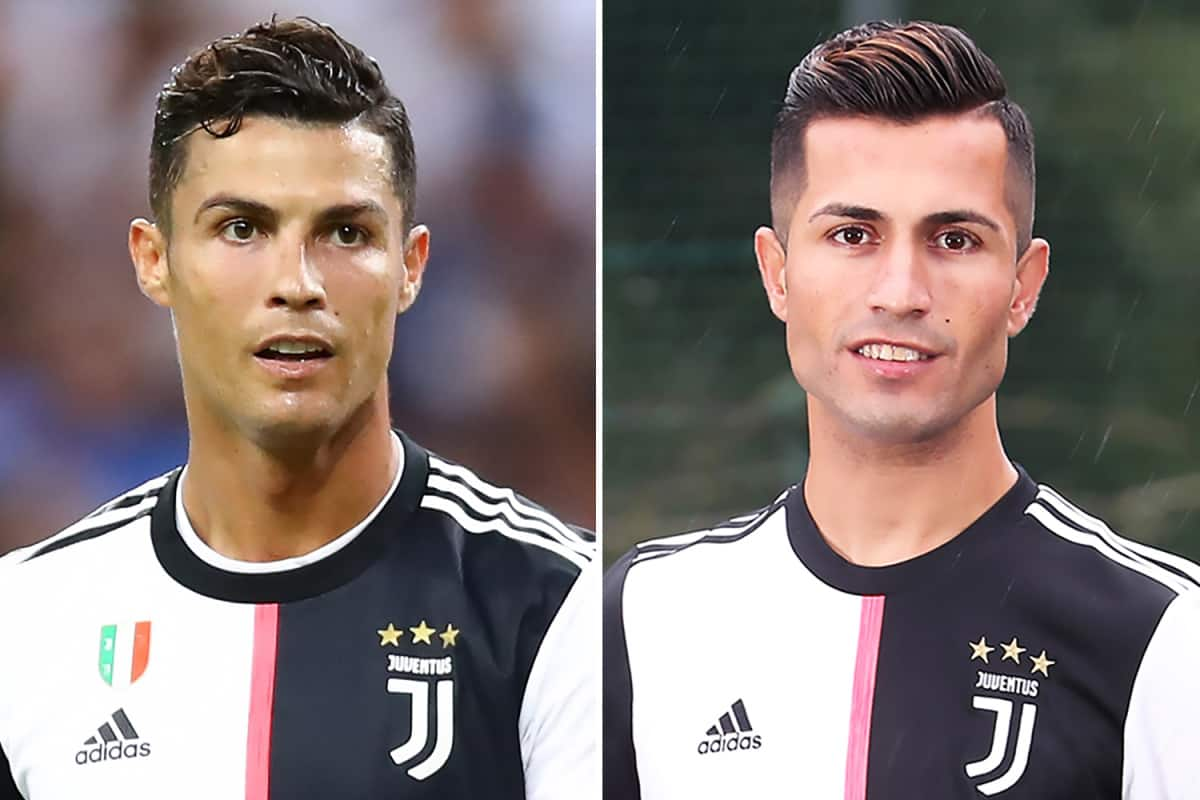 Meet Cristiano Ronaldo's perfect lookalike who lives in England (photos)