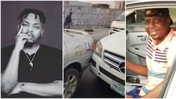 Man narrates how a Benz owner intentionally bashed his car in Lagos, blames Olamide (photos)