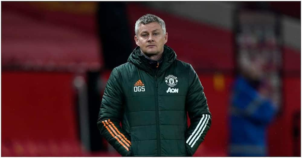 Solskjaer cuts a dejected face during a past Man United match. Photo: Getty Images.