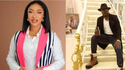 Tonto Dikeh: I'm in my house, Prince Kpokpogri blows hot amid rumours of DSS arrest, goes live on IG