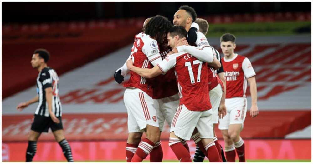 Auba scores brace as resurgent Arsenal demolish Newcastle to continue hot form