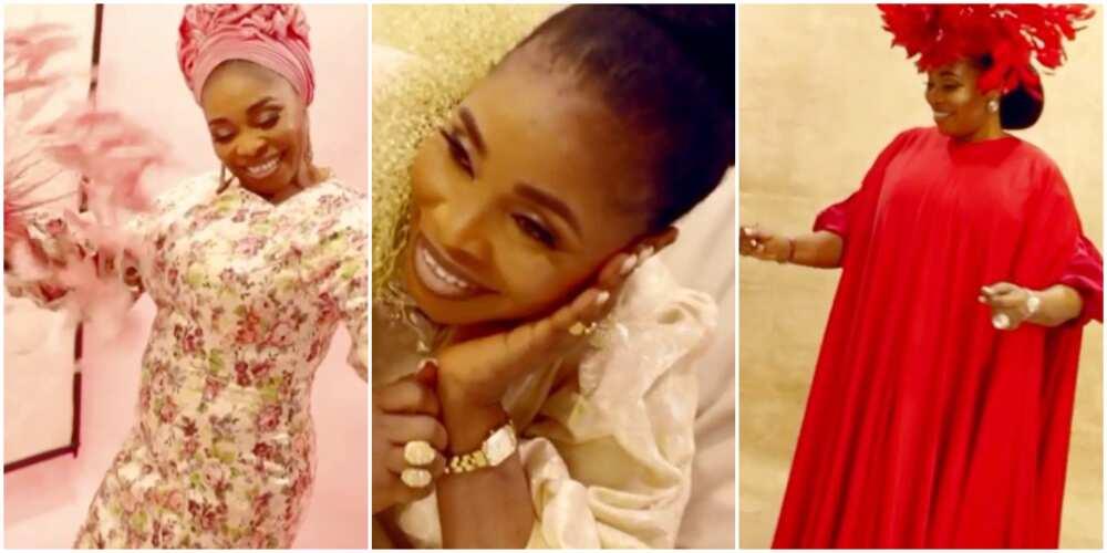 Gospel singer Tope Alabi clocks 50, celebrates with gorgeous photos