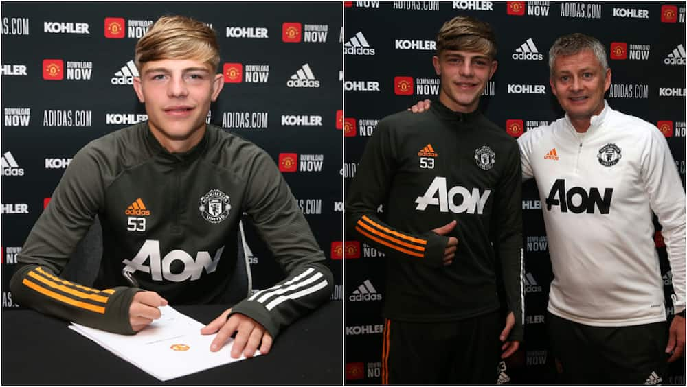 Brandon Williams signs new long term deal with Man United until 2024