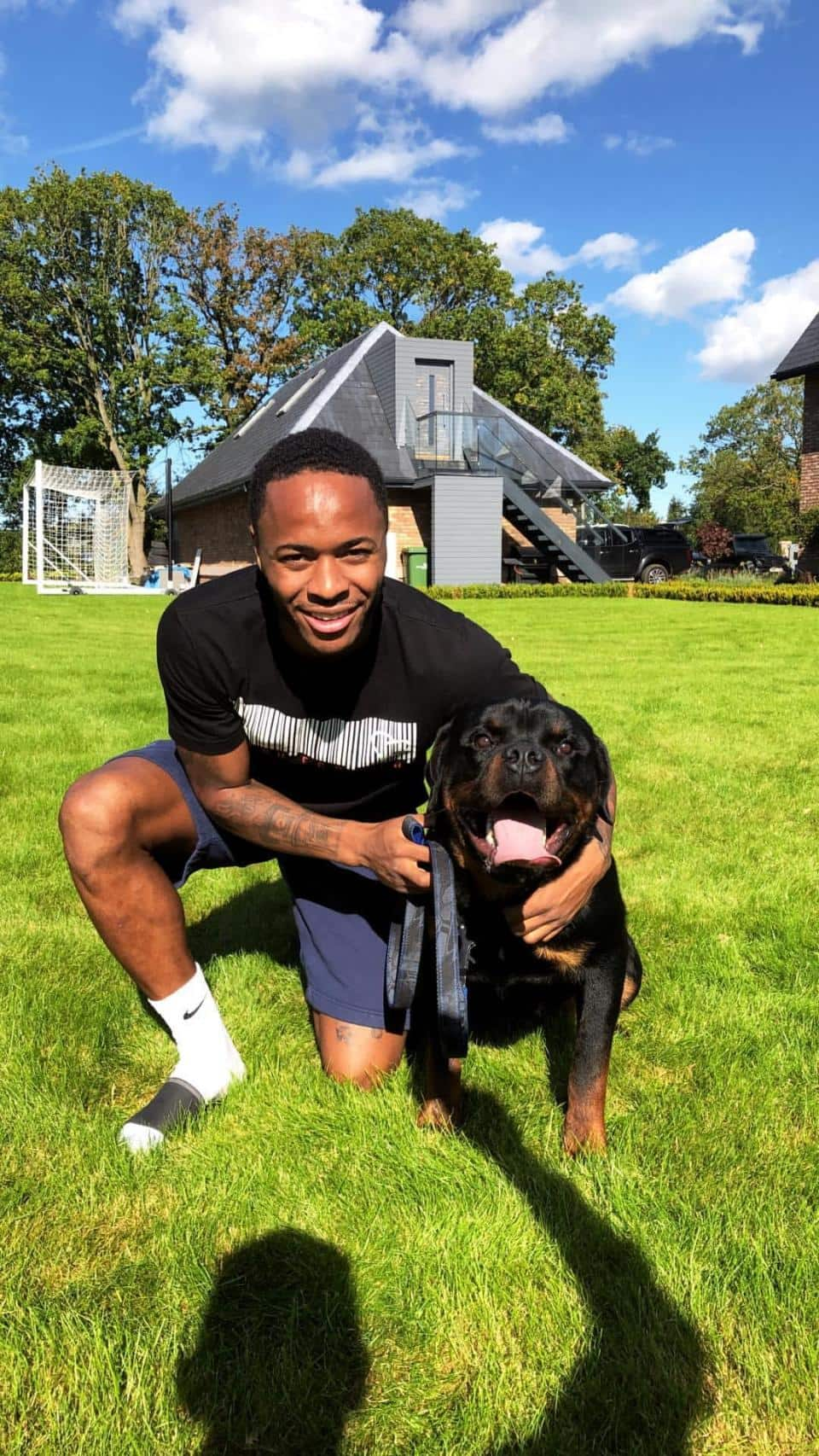 Manchester City star Raheem Sterling buys new dog to protect his family