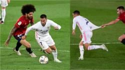 Hazard shines, sends message to Chelsea as Real Madrid keep La Liga title hopes alive