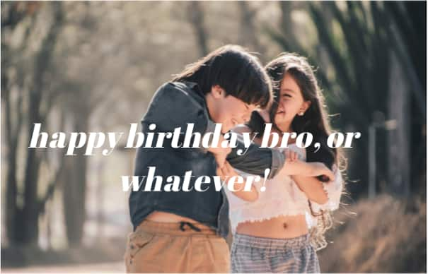 birthday wish to a brother
