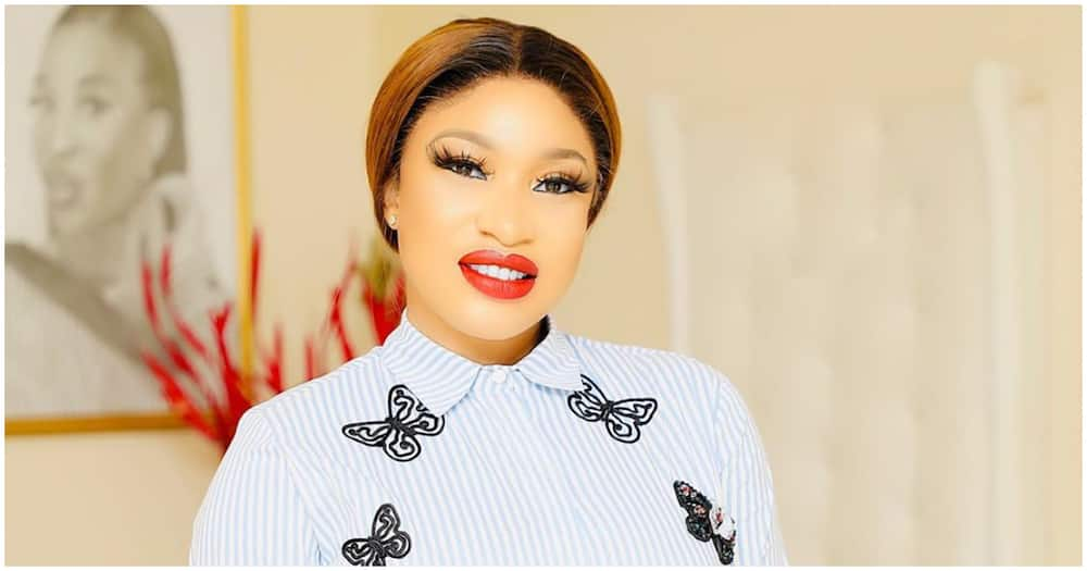 Tonto Dikeh dishes out interesting advice to the ladies about intimacy