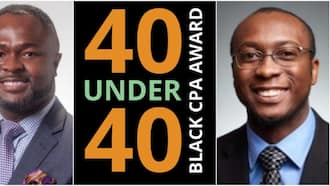 2 Nigerian men win big, bag 40 under 40 awards in US, many celebrate them as cute photos light up the net