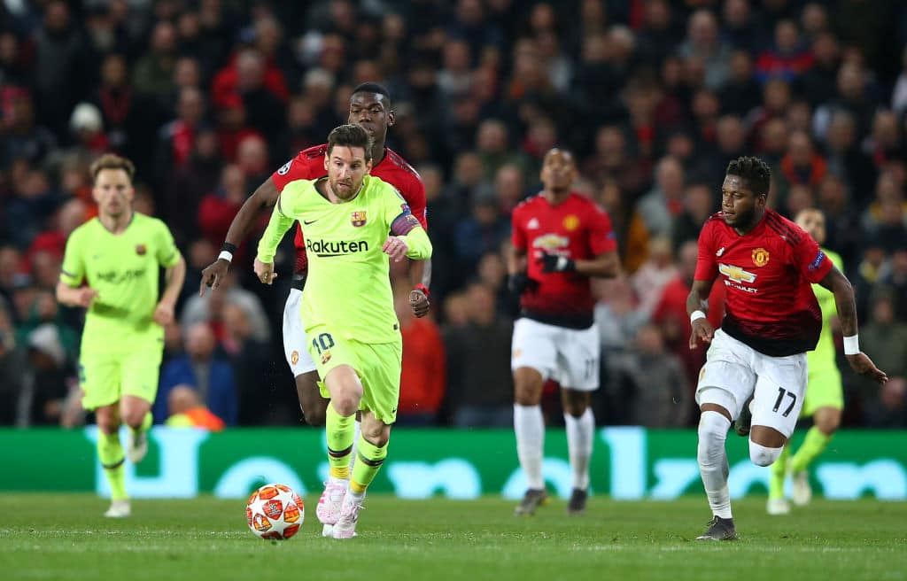 Messi will start against Man United at Nou Camp, claims club boss Valverde