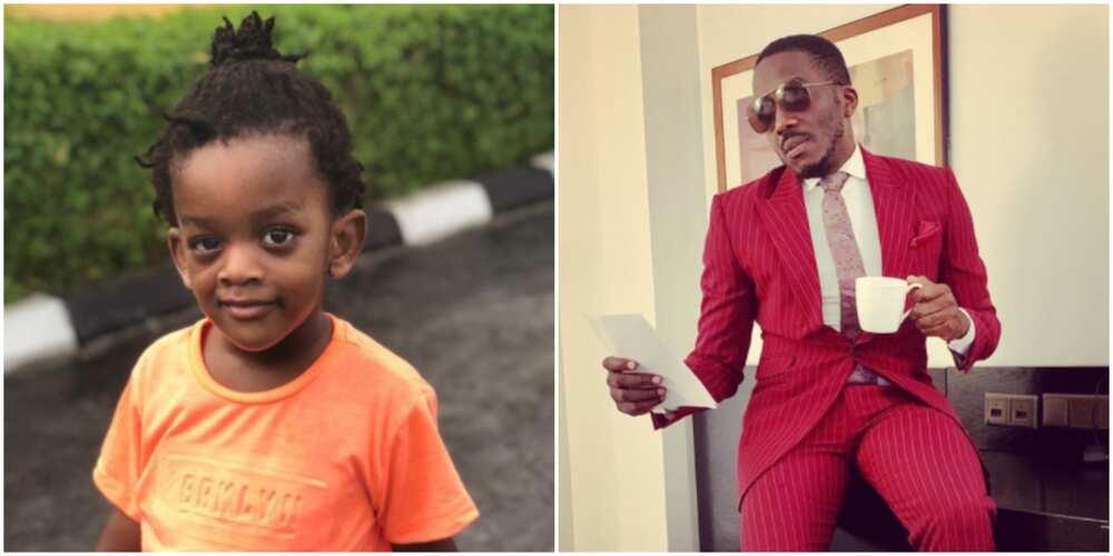 Comedian Bovi celebrates son as he clocks 4, shares photo