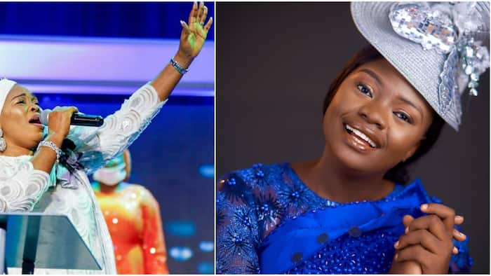 I am awfully sorry for doing that: Tope Alabi finally apologises to Oniduro Mi singer, says she's her daughter