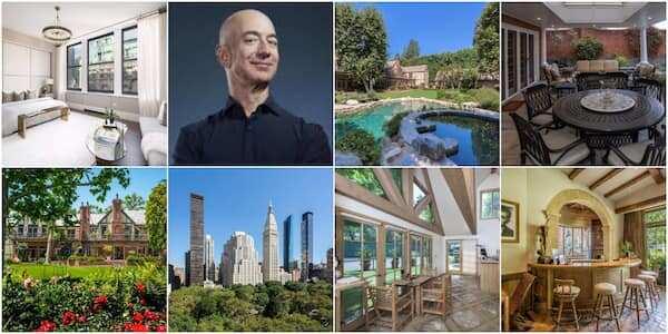 Hotuna da darajar katafaren gidajen Jeff Bezos sun bayyana cewa bashi da tsara