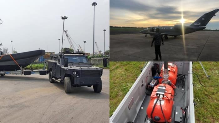 Deep Blue Project: 8 military equipment ordered by FG berths in Nigeria