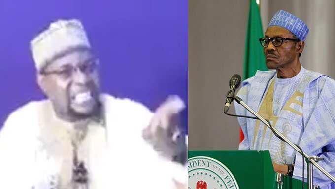 Duk masu ihun 'Sai Baba' har yanzu munafukai ne, ko Buhari bai iya zuwa Katsina - Sheik Bello Sokoto
