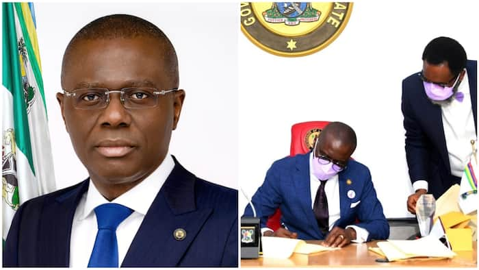 Just In: Governor Sanwo-Olu signs law prohibiting media parade of suspects