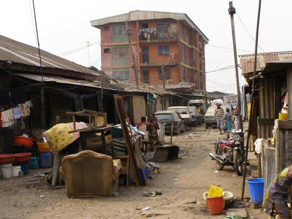 Ruins in Nigeria