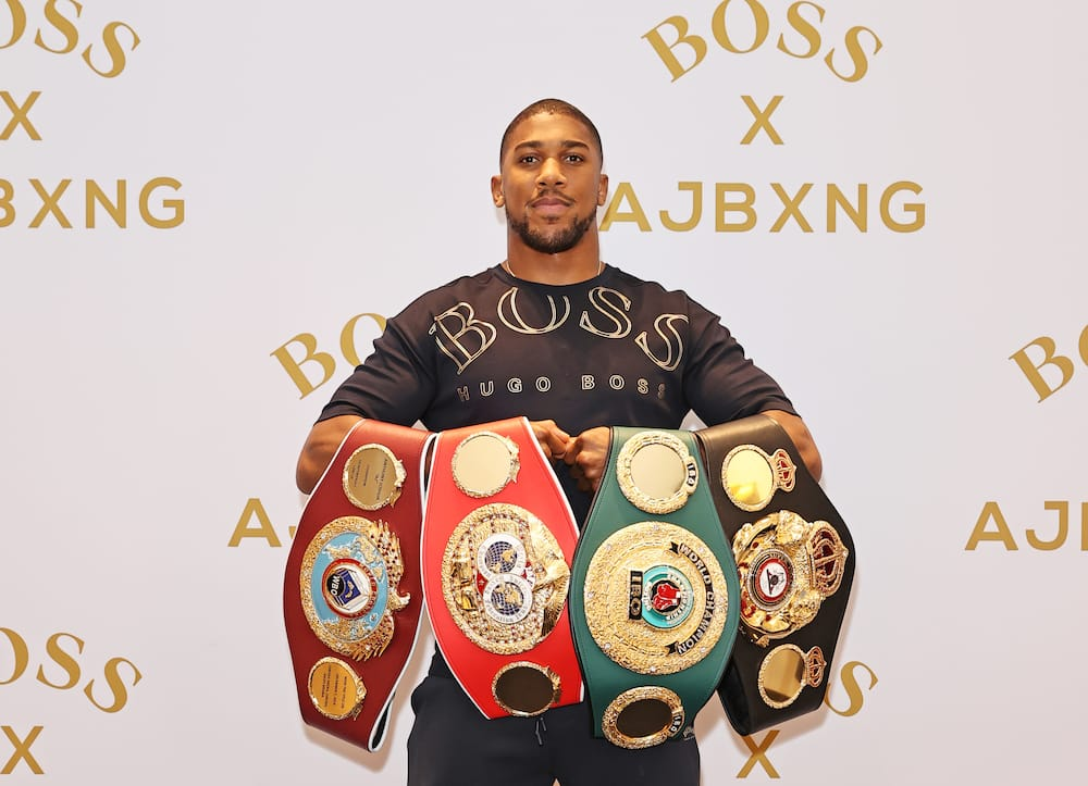Anthony Joshua, Nigerian boxer, wants women to value themselves
