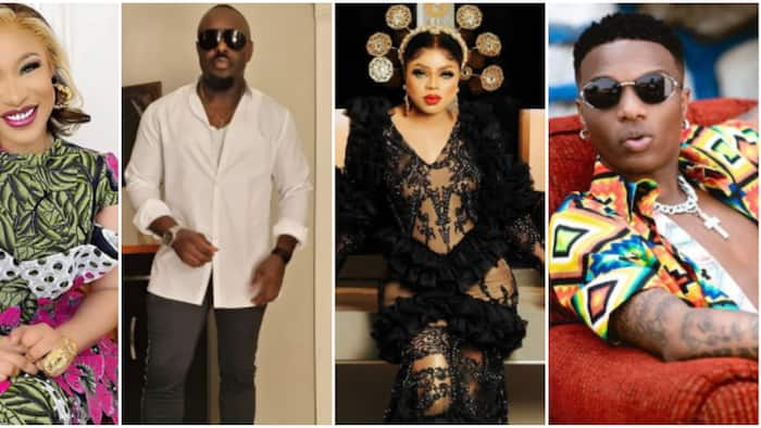 Tonto Dikeh, Bobrisky, Jim Iyke and other Nigerian celebrities you do not want to get into trouble with