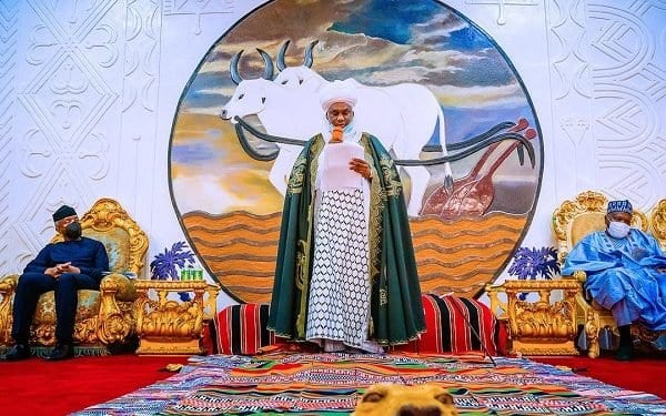 Sarkin Gombe, Abubakar III ya jinjinawa kokarin Osinbajo a tafiyar Gwamnatin Buhari