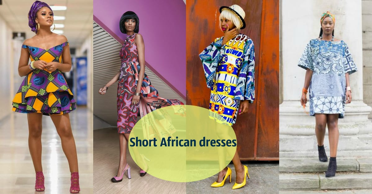 Short African dresses - best designs for real fashionistas