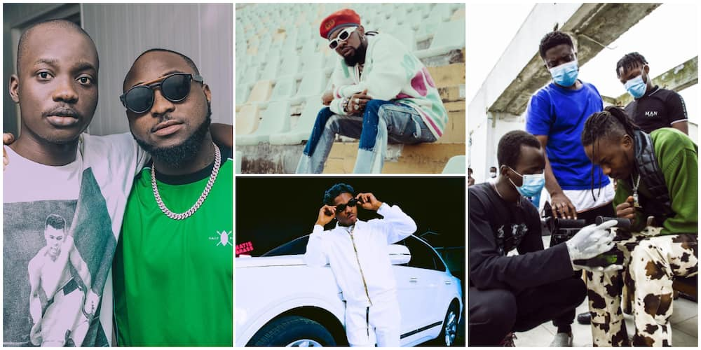 Celebrities Davido's deceased photographer, Fortunate, worked with