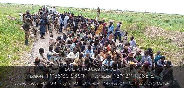 Da duminsa: Kimanin yan Boko Haram 6000 suka mika wuya