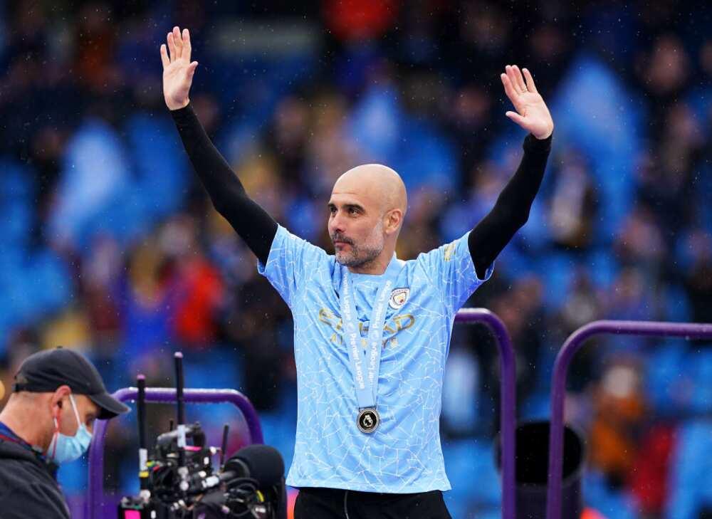 Manchester City boss pep Guardiola wins Premier League manager of the season