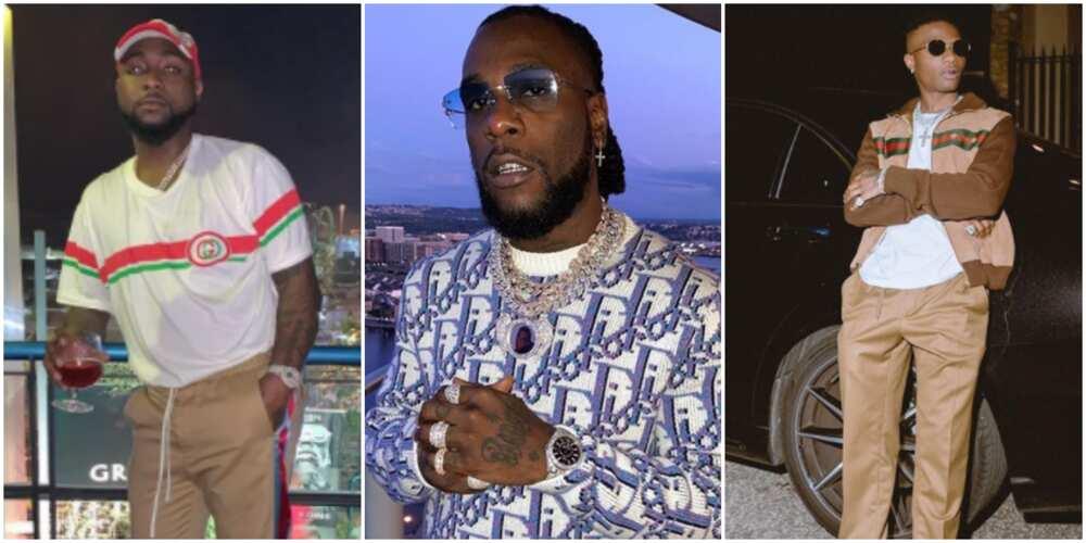 Paul Okoye reaches out to Davido, Burna Boy and Wizkid
