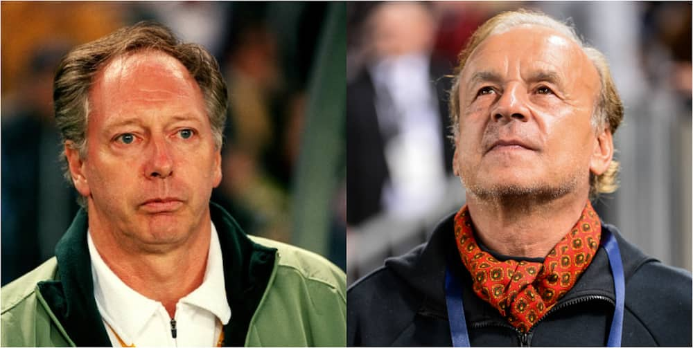 Former Super Eagles Coach Blames Rohr As The Reason Nigeria Is Not Doing Well