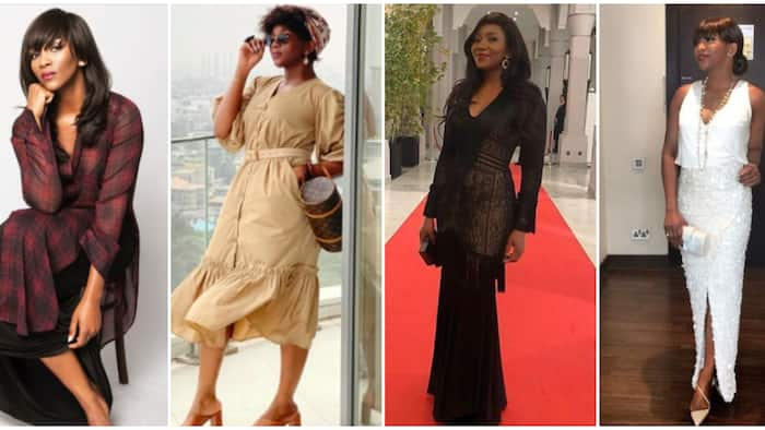 Genevieve Nnaji: 10 times Nigerian queen of minimalism proved simple can be classy