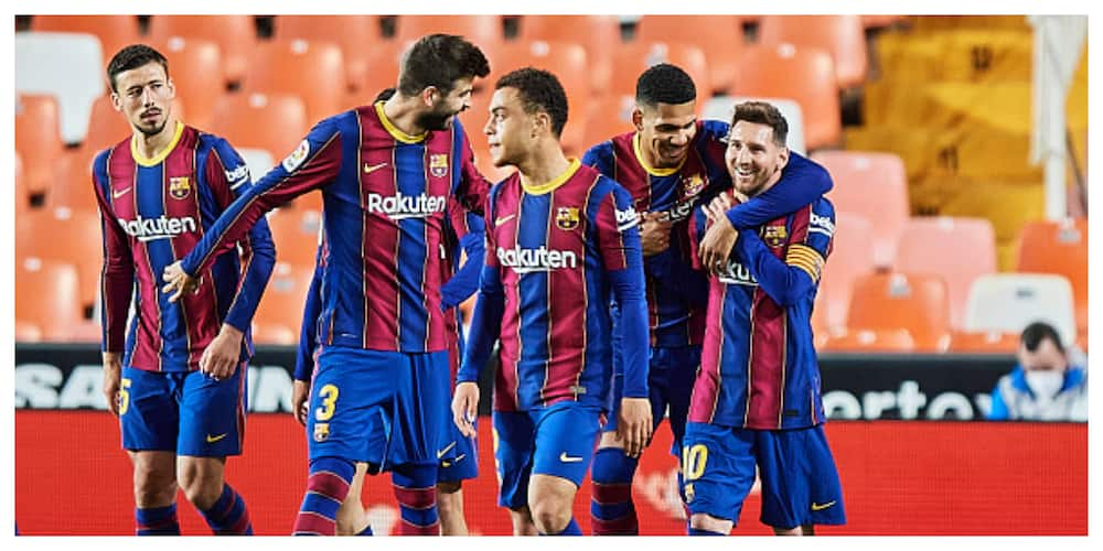 Messi Organizes Dinner Meeting For Barcelona's First Team Stars Ahead Of Crucial Game Against Atletico Madrid