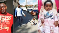 My Oluchi is super special - Actor Emeka Ike says as daughter walks at 8 months (video)
