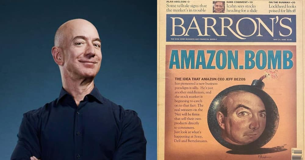 Jeff Bezos posted an article spelling doom for Amazon.