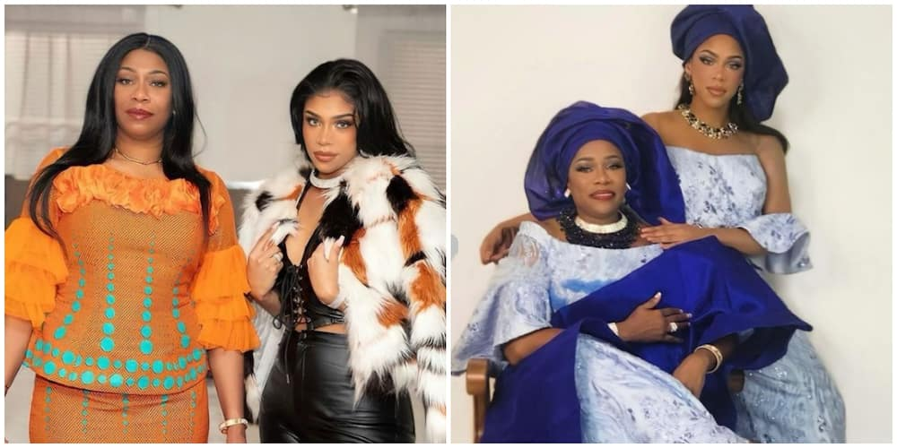 Regina Askia's lookalike daughter celebrates former actress on Mother's Day