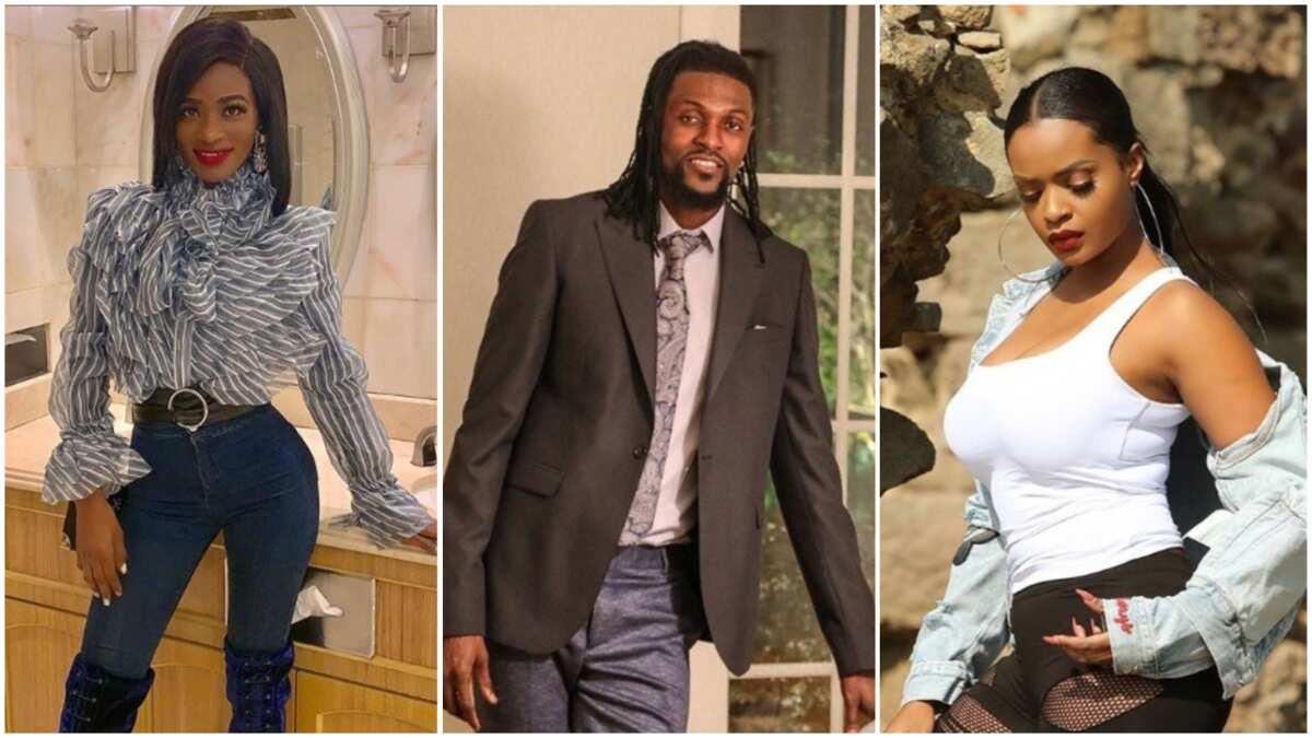 Emmanuel Adebayor, his girlfriend Dillish Mathews and ex-Miss Africa fight dirty